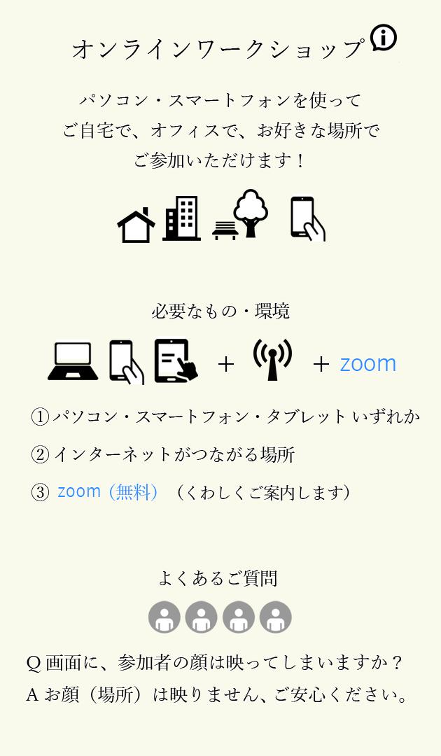 志麻ヒプノ オンラインワークショップインフォメーション